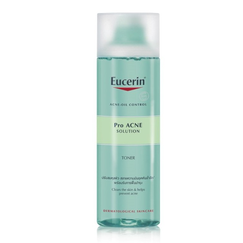 Nước hoa hồng cho da dầu mụn Acne Oil Control ProAcne Solution Toner 200ml - Eucerin