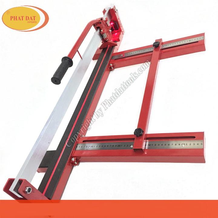 Máy cắt gạch tay đẩy Haloshi-800 Đỏ tặng -kèm 01 lưỡi cắt