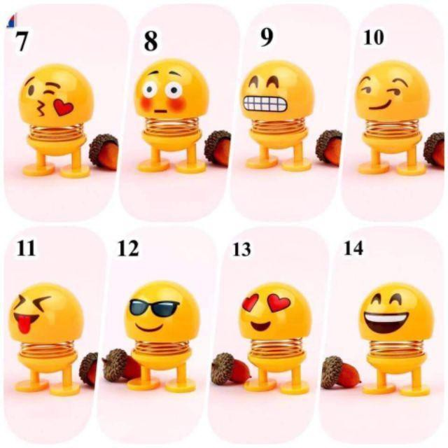 Combo 85 bé emoji lò xo