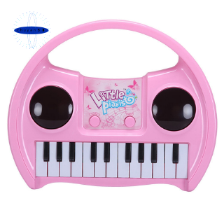 QIAOWA Q Mini Piano Keyboard Toy for Kids Piano Educational Toy,Pink