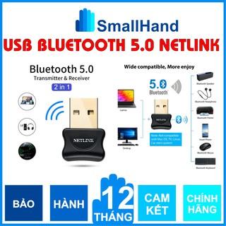 USB Bluetooth 5.0 Netlink – Chính Hãng Netlink bảo hành 1 năm – Hỗ trợ máy tính kết nối Bluetooth với các thiết bị khác