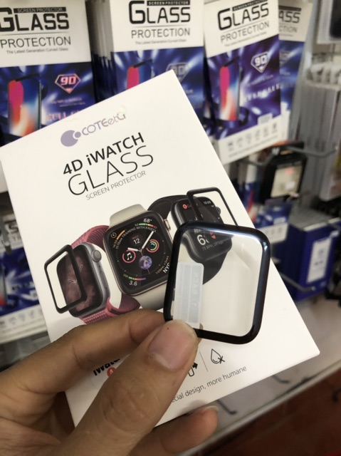 Cường lực apple watch chính hãng COTEetCI đủ seri 1,2,3,4