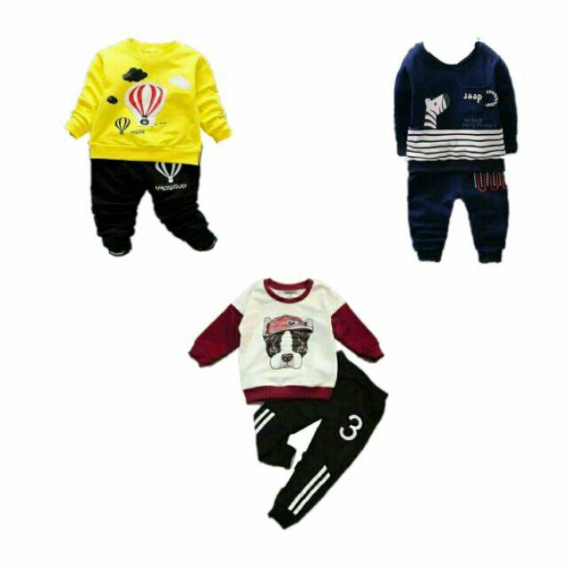 Combo 3 bộ quần áo nỉ da cá dài tay size từ 7-17kg cho bé trai và bé gái (Màu sắc ngẫu nhiên) - 2624672 , 648118897 , 322_648118897 , 210000 , Combo-3-bo-quan-ao-ni-da-ca-dai-tay-size-tu-7-17kg-cho-be-trai-va-be-gai-Mau-sac-ngau-nhien-322_648118897 , shopee.vn , Combo 3 bộ quần áo nỉ da cá dài tay size từ 7-17kg cho bé trai và bé gái (Màu sắc n