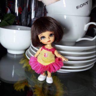 Fullset búp bê BJD recast 1/12 Sophia màu da tan, khớp chắc
