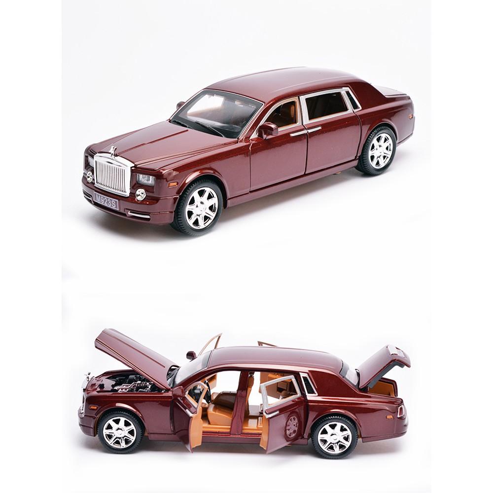 Mô hình Rolls Royce Phantom rồng bằng sắt tỉ lệ 1:24-MÃ GIẢM GIÁ TOYFS999 giảm 15% tối đa 40K