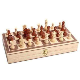 Bộ cờ vua bằng Gỗ cao cấp cho bé