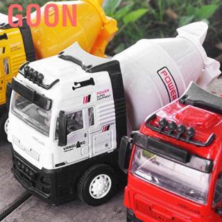 Goon Retreat mixer truck light alloy cement tanker Friction powered construction engineering metal ve