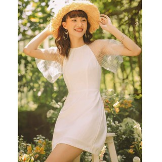 Go t De Jun Đầm Yếm Tay Ren Weela Dress thumbnail