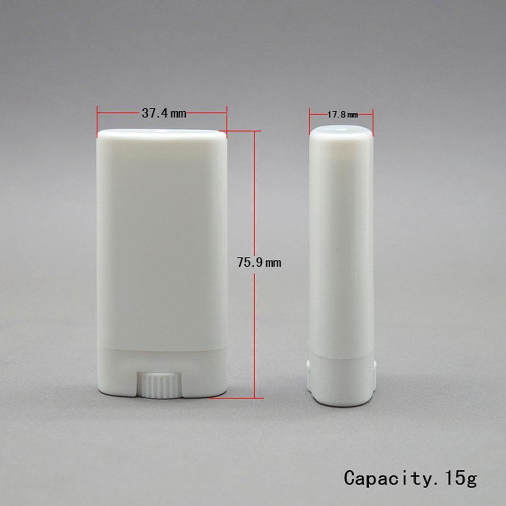 Small Size Refillable For Lip Balm Deodorant Portable Empty