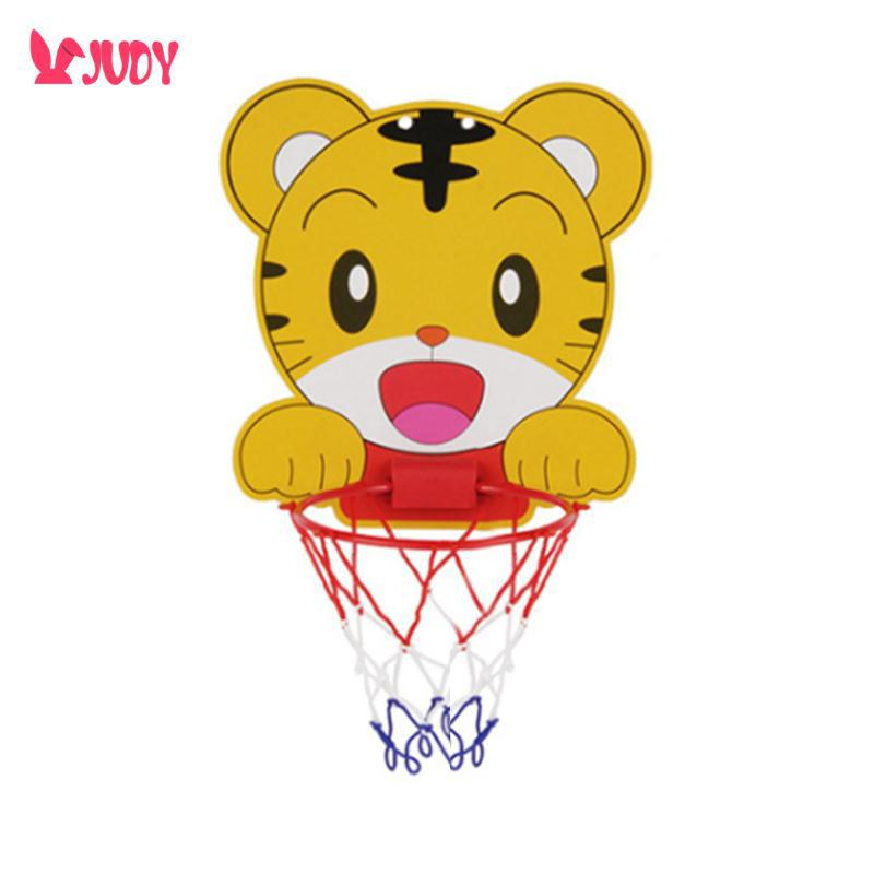 Hanging Basketball Hoop Sturdy Cute Mini Basketball Wall Mounted Interactive