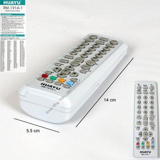 [Mã ELFLASH5 giảm 20K đơn 50K] Remote Tivi Huayu for Sony CRT Model RM-191A-1