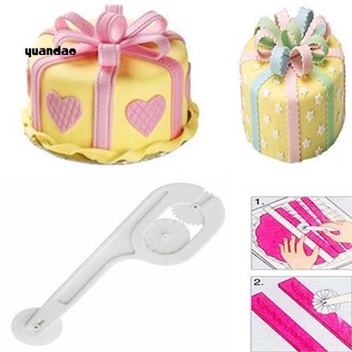 [Mã FSS09JAN hoàn 20% XU đơn từ 0đ]Dụng cụ lăn cắt kẹo đường trang trí bánh