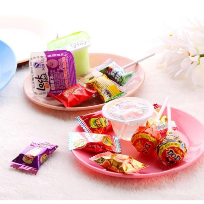 [XẢ KHO] đĩa đựng bnahs kẹo nhiều màu | SẢN PHẨM HOT