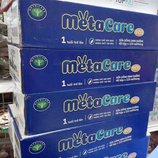 Sữa bột pha sẵn Metacare 110ml (thùng 48hộp) Date mới nhất