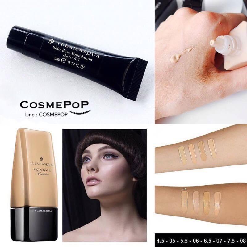 ILLAMASQUA Skin Base Foundation 5ml. •Shade 6.5