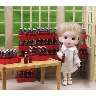 ★ƯU ĐÃI ★A dozen Miniature food model drink Dollhouse Miniature 1:12 Doll Accessories toy
