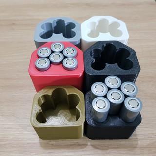 [DIY] Khuôn đóng pin cell 18650, dành cho vỏ pin Hitachi 12v đứng