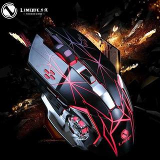 Chuột game thủ LIMEIDE có dây đèn led 7 màu V3 mẫu mới cực ngầu