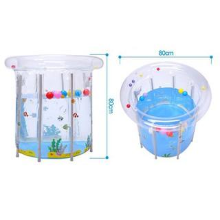 [GIẢM 45%] Bể bơi khung tròn kèm phao cổ cho bé 80 x80cm _HLimported _HL NHẬP NHẬT.