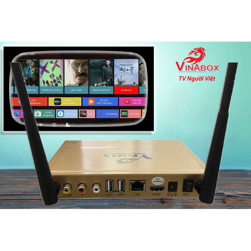 VINABOX X2 - RAM 1G tặng chuột không dây