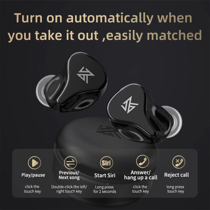 Tai nghe không dây KZ Z1 Pro, Bluetooth 5.2, bản nâng cấp mới, tốt hơn hay hơn