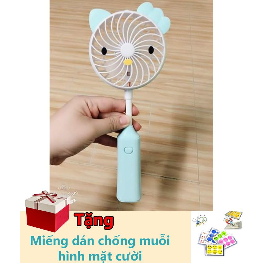 Quạt mini usb tai thỏ tặng kèm 1 miếng dán chống muỗi hình mặt cười - 3135309 , 1131148660 , 322_1131148660 , 89000 , Quat-mini-usb-tai-tho-tang-kem-1-mieng-dan-chong-muoi-hinh-mat-cuoi-322_1131148660 , shopee.vn , Quạt mini usb tai thỏ tặng kèm 1 miếng dán chống muỗi hình mặt cười