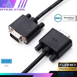 Cáp VGA Chất Lượng Cao Dell 5KL2H06509 Original Monitor VGA Cable HD15 M M Length 1.5M - Chính Hãng thumbnail