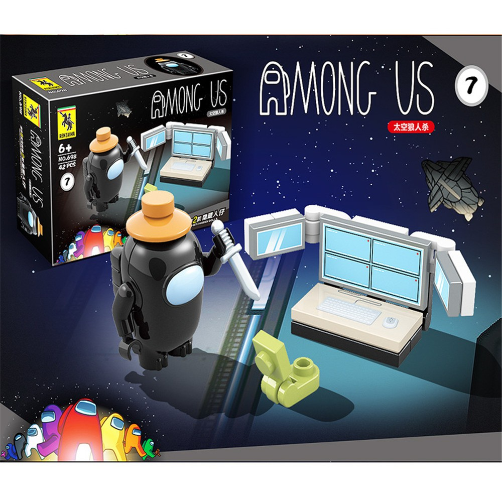Among us plush Space Werewolf Killing Game Block Blind Box Toy