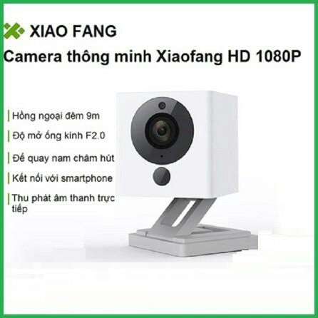 [CHÍNH HÃNG] Camera Xiaomi Xiaofang IP 1080P - Camera IP giám sát Xiaomi Small Square Smart C