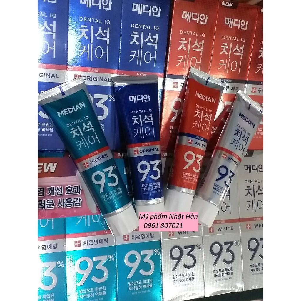 Kem đánh răng MEDIAN Dental IQ Toothpaste 93% Hàn Quốc- 120gr