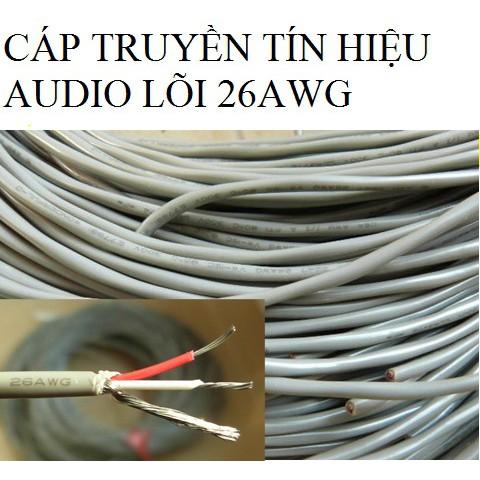 Cáp truyền tín hiệu âm thanh loại tốt - lõi 26AWG - 2577144 , 1054432662 , 322_1054432662 , 8000 , Cap-truyen-tin-hieu-am-thanh-loai-tot-loi-26AWG-322_1054432662 , shopee.vn , Cáp truyền tín hiệu âm thanh loại tốt - lõi 26AWG