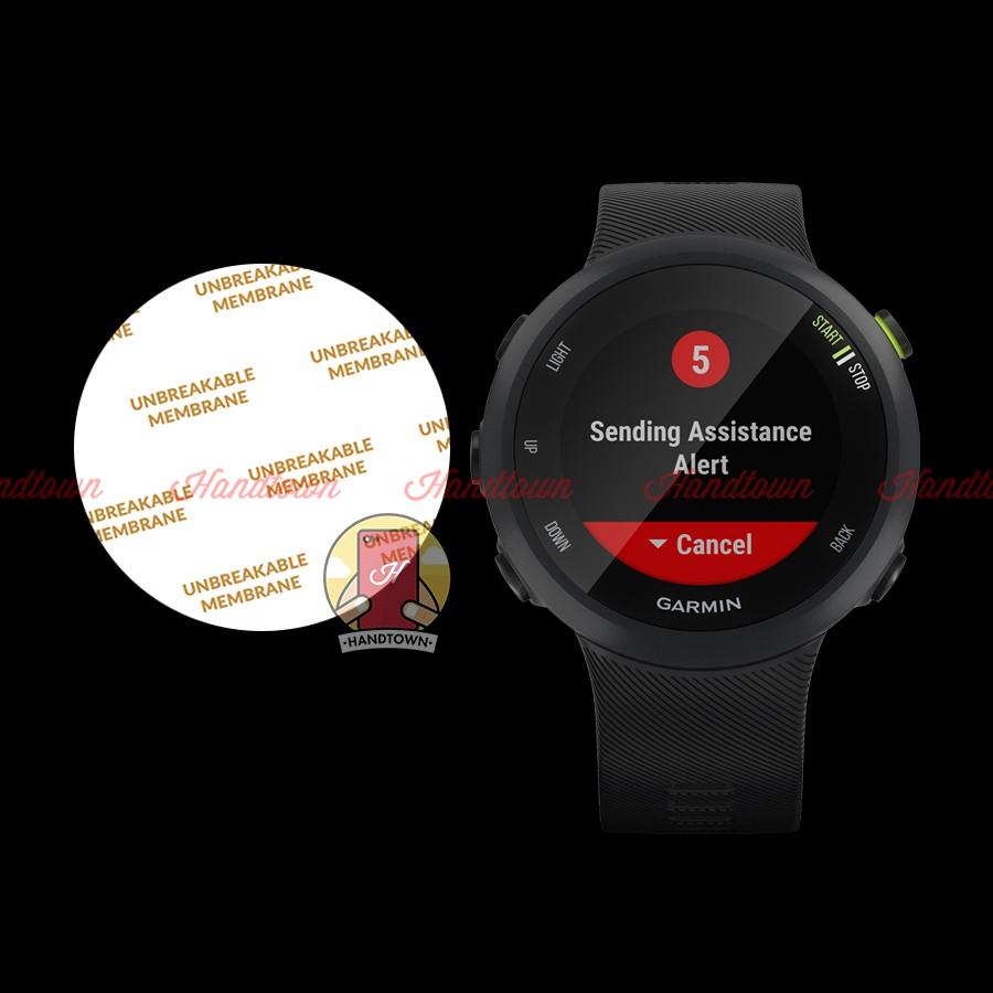Miếng Dán Màn Hình Mặt Trước TPU Dẻo PPF Dành Cho đồng hồ Garmin Forerunner 45 / 45S / 245 Chống Va Đập của Cường Lực