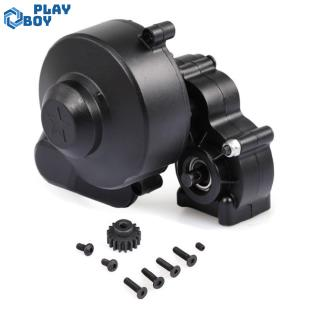 Plastic or metal Complete Center Gearbox Transmission Box with Gear for Axial SCX10 SCX10 II 90046