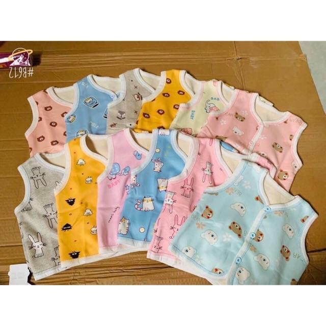 Áo Gile mềm mịn cực thích cho bé( 6 màu sau)
