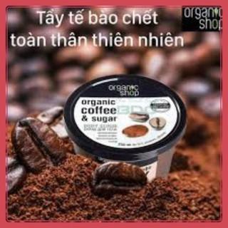 TẨY DA CHẾT ORGANIC SHOP COFFEE Tẩy Tế Bào Chết Body Organic Shop Coffee Sugar Body Scrub 250ml [HOT] thumbnail