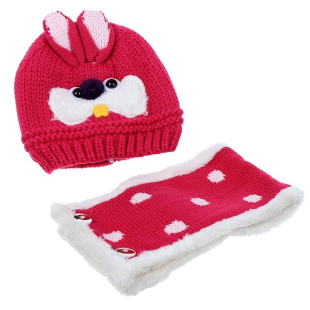 Mũ len kèm khăn tai thỏ - 2630824 , 31712846 , 322_31712846 , 80000 , Mu-len-kem-khan-tai-tho-322_31712846 , shopee.vn , Mũ len kèm khăn tai thỏ
