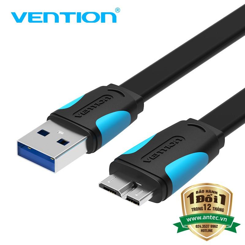 Dây Cáp USB 3.0 dùng cho ổ cứng di động dài 50Cm VENTION - Chính Hãng VAS-A12