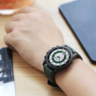 Đồng hồ nam dây silica cao cấp