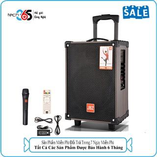 Loa Kéo Karaoke Bluetooth JBZ NE108 150W Bass 2 Tấc