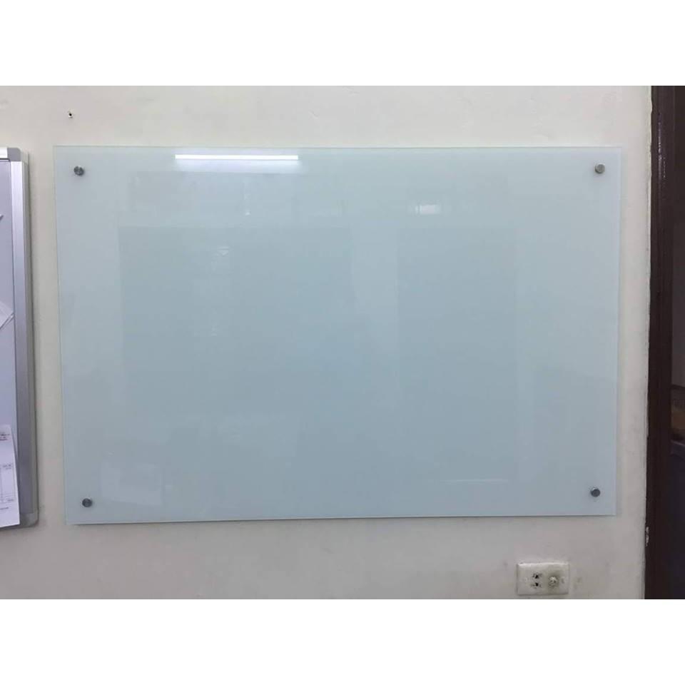 Bảng kính văn phòng 800x1200 trắng sữa [Nội thành HN miễn phí vận chuyển lắp