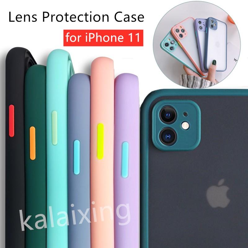 Ốp Rock Iphone Lưng Nhám For i11/Pro/Pro Max Drop Resistance Full Protection