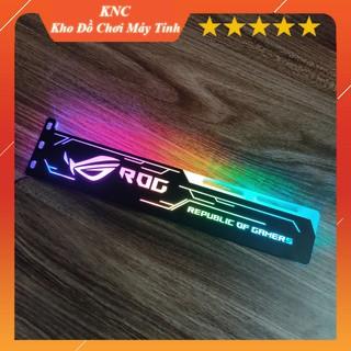 Đỡ chống xệ card màn hình VGA ROG Led RGB đồng bộ Hub Coolmoon Controller