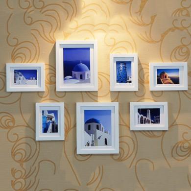 Bộ 7 khung ảnh FREE IN ẢNH FREE ĐINH TREO