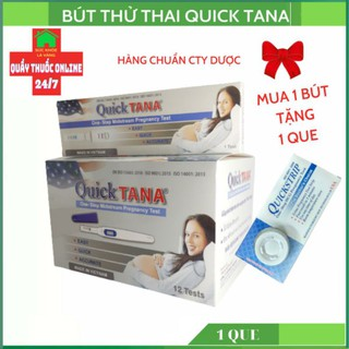 Bút thử thai Quicktana hàng chuẩn công ty đơn giản chính xác