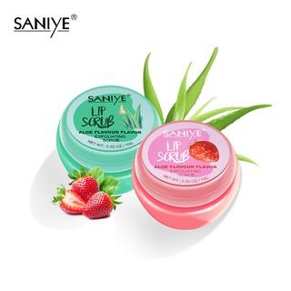 LiP Scrub SANIYE K1134 Exfoliating Moisturizing Lip Care 10g