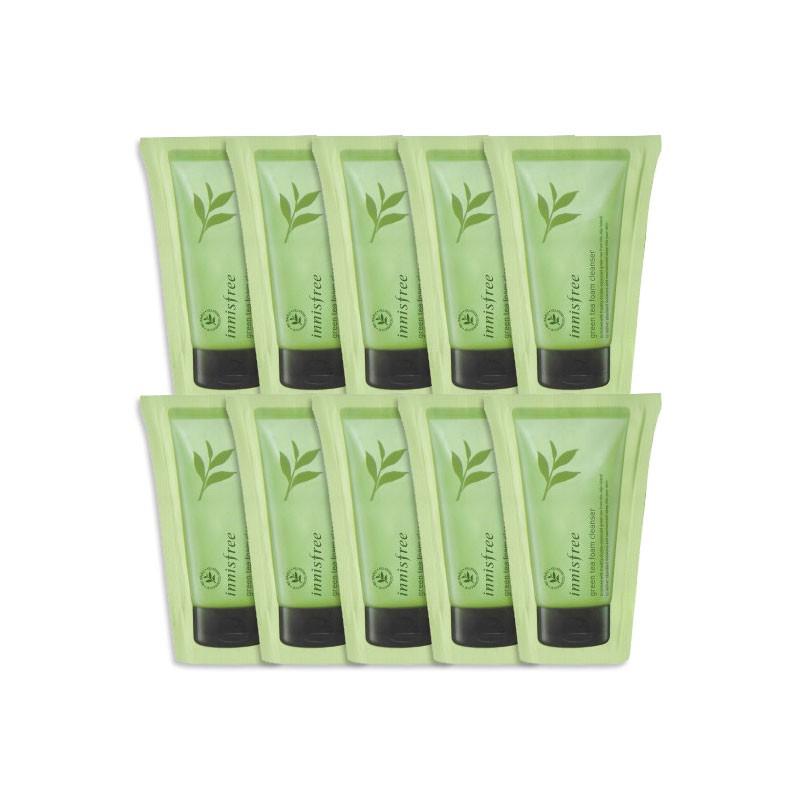 Sample sữa rửa mặt Innisfree Green Tea Cleansing Foam (gói 3ml) - 2980152 , 1291177732 , 322_1291177732 , 10000 , Sample-sua-rua-mat-Innisfree-Green-Tea-Cleansing-Foam-goi-3ml-322_1291177732 , shopee.vn , Sample sữa rửa mặt Innisfree Green Tea Cleansing Foam (gói 3ml)