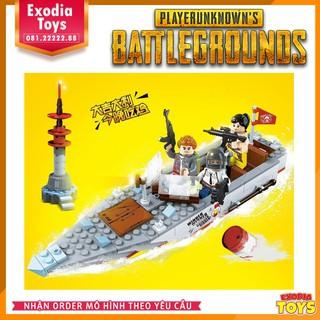 Mô hình lắp ráp Xe bán Thuyền PG-117 – PUBG | Speedboat PG-117 PlayerUnknown's Battlegrounds