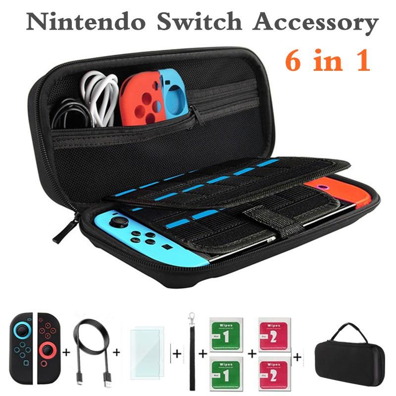 Túi đựng máy chơi game cầm tay Nintendo Switch kèm phụ kiện bảo vệ 4 trong 1 - 14070121 , 1815209509 , 322_1815209509 , 371354 , Tui-dung-may-choi-game-cam-tay-Nintendo-Switch-kem-phu-kien-bao-ve-4-trong-1-322_1815209509 , shopee.vn , Túi đựng máy chơi game cầm tay Nintendo Switch kèm phụ kiện bảo vệ 4 trong 1