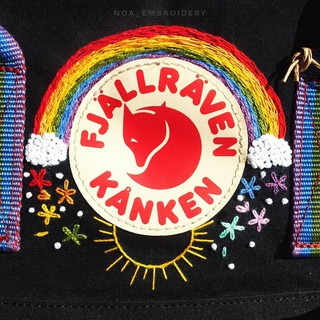 Balo KanKen Classic Quai Cầu Vồng Rainbow Màu Hiếm thumbnail