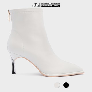 Giày Boot Nữ Da Gót Bạc 5Phân HAPAS - BOT517